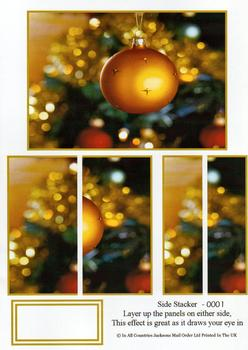 Side Stacker sheet - Christmas Bauble . FANTASTIC OFFER!!!