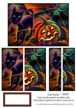Side Stacker sheet - Halloween 2 . FANTASTIC OFFER!!!