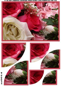 Roses Corner Side Stacker Sheet . FANTASTIC OFFER!!