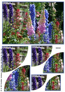 Floral Corner Side Stacker Sheet . FANTASTIC OFFER!!