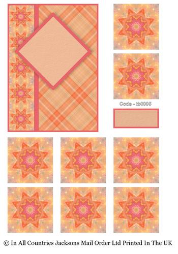 Tea Bag Card Front and Kit 5 3D Card Art RRP 75p