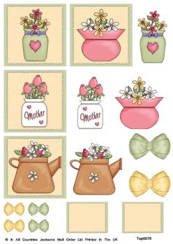 Mothers and Flowers - Topper Sheet y Mother
