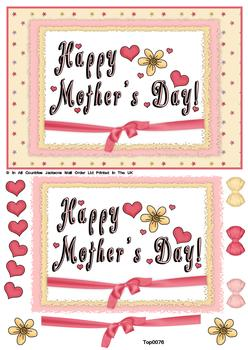 Happy Mother' s Day t papertole.co.uk