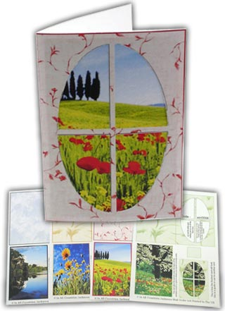 Pack of 4 x window card sheets win2/3/5/6 9 papertole.co.uk