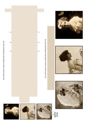 Waterfall Sheet - Vintage 2 3D Card Art RRP 85p